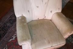 antikes Mohair-Sofa ursprünglich